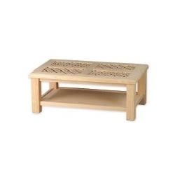 TABLE CENTRALE MOSAÏQUE 73X73