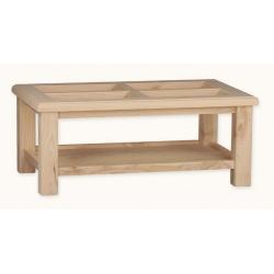 TABLE CENTRALE FENÊTRE 120X73 VERRE