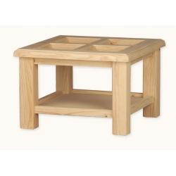 TABLE D´ANGLE FENÊTRE 73X73 VERRE