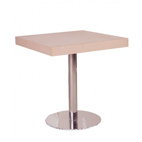 MESA BAR PIE METALICO 70x70