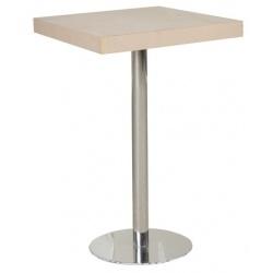 TABLE POUR ÉVÉNEMENTS EN EXTÉRIEUR PIED MÉTALLIQUE 60X60